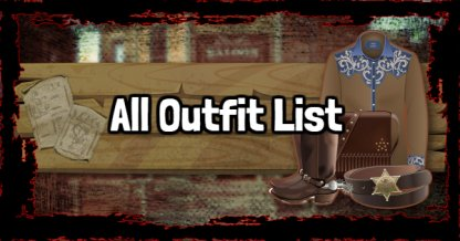 All Outfit List & Price