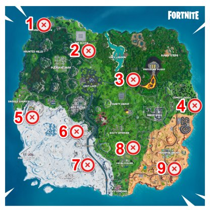 Spray Cans Locations