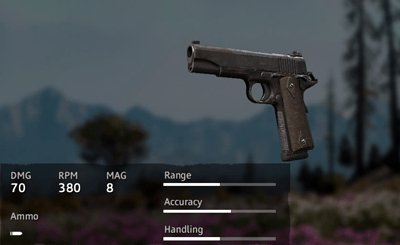 Far Cry New Dawn Rusty 1911