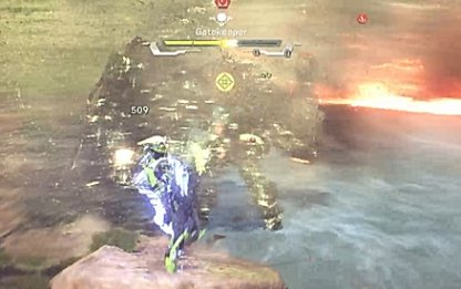 Armored Enemies Have A Yellow Health Gauge