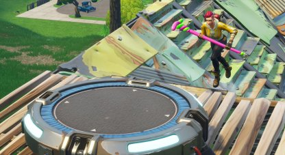 Jump on a Launch Pad