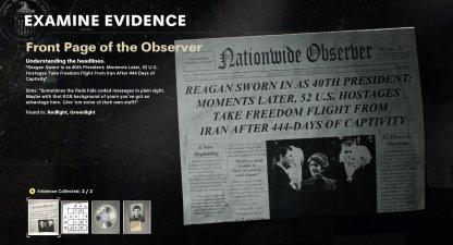 Clues & Evidences