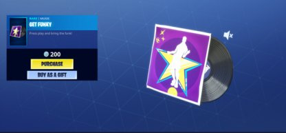 Buy from the Item Shop