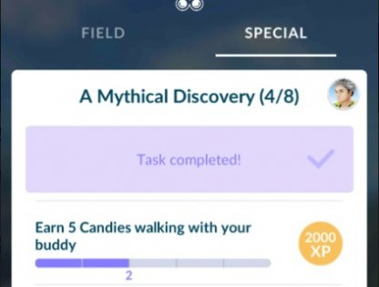 Pokemon Go What are Special Research? - Tips & Guide