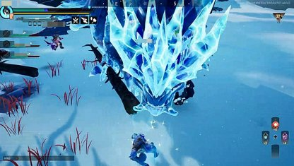 Encases Itself In Ice When Aethercharged