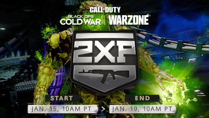 New 2XP Event