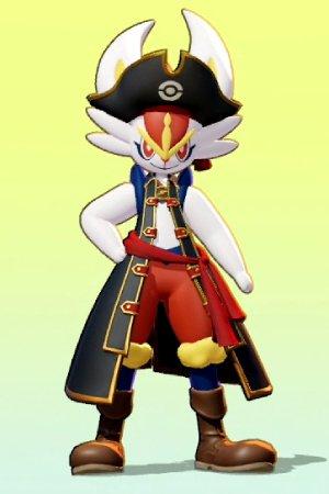 Captain Style Cinderace