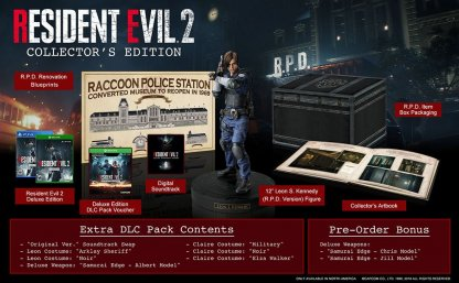 Resident Evil 2 Edition Differences