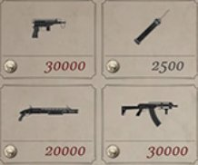 Weapon Versions With Unlimited Ammo