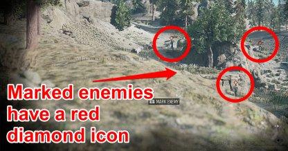 Use Binoculars To Tag Enemies