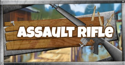 Fortnite Assault Rifle - Weapon List