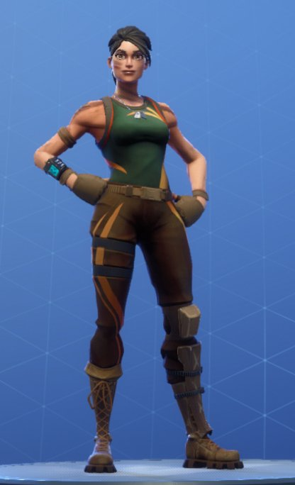 Skin Outfit JUNGLE SCOUT