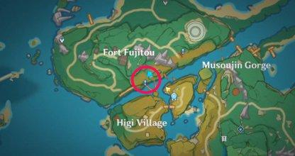 Talk To Yasumoto near Fort Fujitou