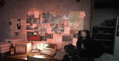 clues inside the tv station shack