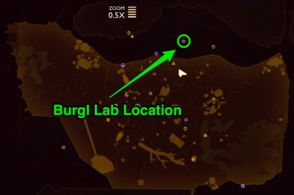 Burgl lab location