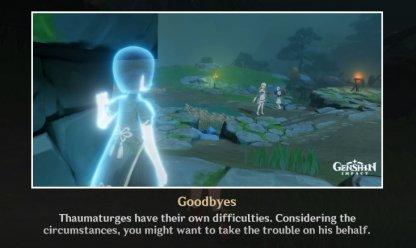 Ending 5: Goodbyes