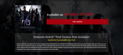 Nintendo Switch Port To Be Released on Oct. 29th!