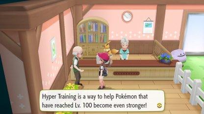 Hyper Train Pokemon Day Care