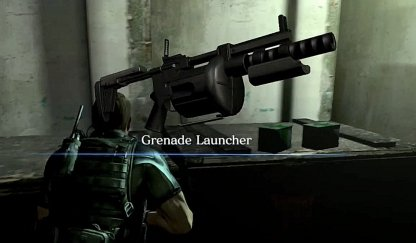 Grenade Launcher Can Be Found Here