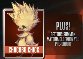 Chocobo Chick Summon Materia