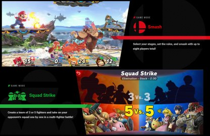 Super Smash Bros. Ultimate Game Modes