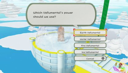 Use The Vellumental Power Matching The Statue