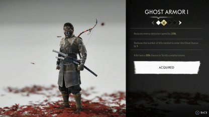 Receive The Ghost Armor Set