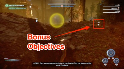 Bonus objectives