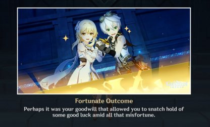 Ending 6: Fortunate Outcome