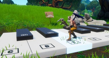 Visit an Oversized Piano Challenge
