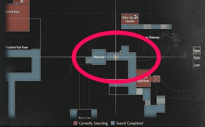 Resident Evil 2 Rook Electronic Part Map