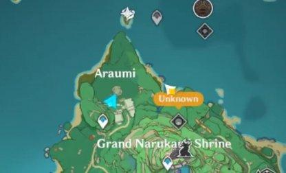 Araumi Map