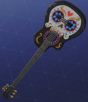 Pickaxe Skin SIX STRING STRIKER