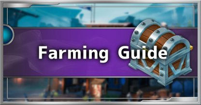 Material Farming Guide - Parts, Reagents, Cores & Orbs