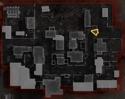 Map layout - granza yard