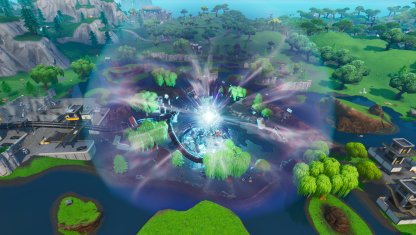 Go to Near the Zero Point in Loot Lake