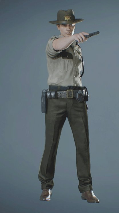 Leon - ARKLAY SHERIFF Pistol Front