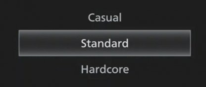 Choose Casual Difficulty