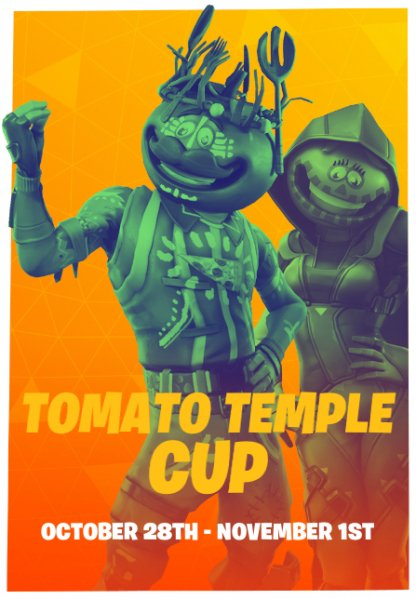 Fortnite Tomato Temple Cup