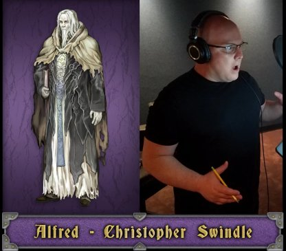 Alfred English Voice Actor - Christopher Swindle