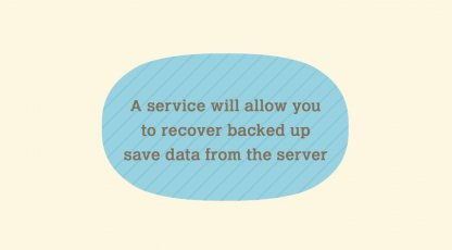 Service Will Help Recover Save Data