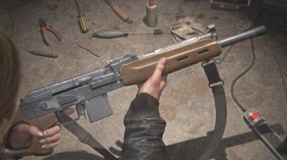 Semi-auto rifle Basic Stats
