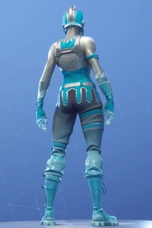 FROZEN RED KNIGHT Back