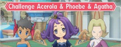 Challenge Acerola & Phoebe & Agatha