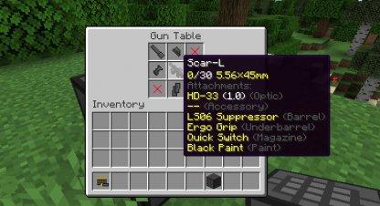 Gun Customization Infinity Attachments Options