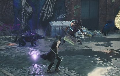 Devil May Cry 5 Keep Distance Until Enemies Are Dying