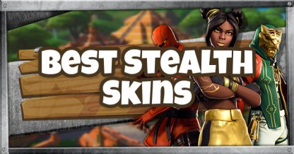 Best Stealth & Camouflage Skins