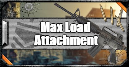 Call of Duty Black Ops IV Weapon Attachments Max Load