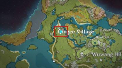 Qingce Tree Location 2