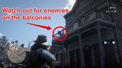 Check Foe Enemies On The Second Floor